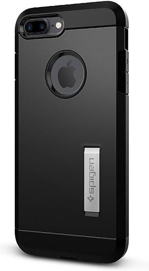 Spigen Tough Armor Works with Apple iPhone 7 Plus Case (2016)/ iPhone 8 Plus Case (2017) - Black