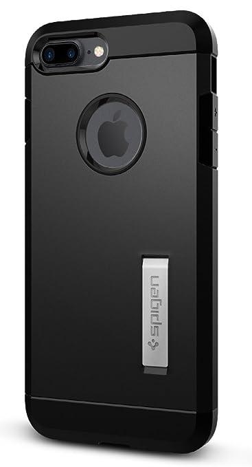 19 opinioni per Spigen 043CS20531 Custodia per Apple iPhone 7 Plus, Nero/Opaco