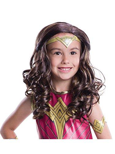 - Rubie's Costume Batman V Superman: Dawn of Justice Wonder Woman Wig