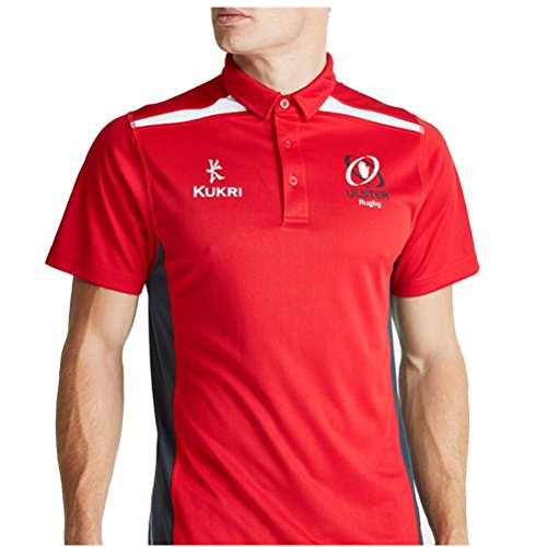 KUKRI ulster rugby performance polo shirt [red] - Medium