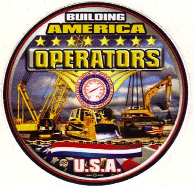 5 Operating Engineers Full Color Hardhat Stickers BW9