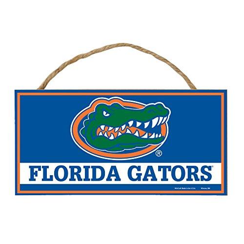 WinCraft NCAA Florida Gators Hardboard Wood Signs with Rope, 5 x 10-Inch, Multi ()