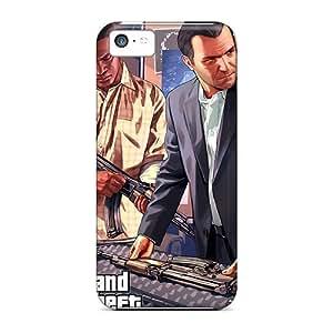 XiFu*MeiFaddish Phone Gta 5 Preparation Cases For iphone 4/4s / Perfect Cases CoversXiFu*Mei