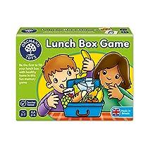 Orchard Toys Lunch Box - Juego infantil de memoria con tarjetas ilustradas sobre alimentación