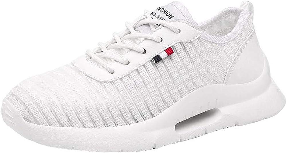 Zapatillas De Running Para Mujer Deportivas Verano Nuevos Zapatos Blancos Pequeños De Malla Grande Tamaño Transpirable Zapatos Ligeros Zapatos Para Estudiantes,White,37: Amazon.es: Ropa y accesorios