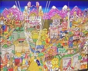 Welcome to Fabulous Las Vegas - 2000 Piece Glitter Puzzle by Charles Fazzino