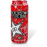 Rockstar Pure Zero Zero Calorie Watermelon 16 Oz - Pack of 24