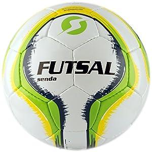 Senda Rio Futsal Training Ball, Fair Trade Certified, Green/Yellow, Size 4 (Ages 13 & Up)