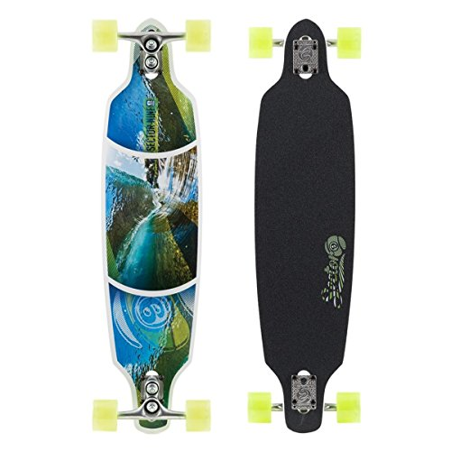 sector-9-fractal-complete-skateboard-white