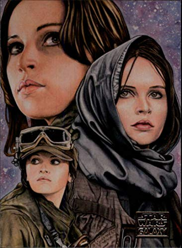 2018 Topps Star Wars Galaxy Non Sport Trading Card #25 Jyn Erso's Purpose Louise Draper Official Collectible Entertainment Card