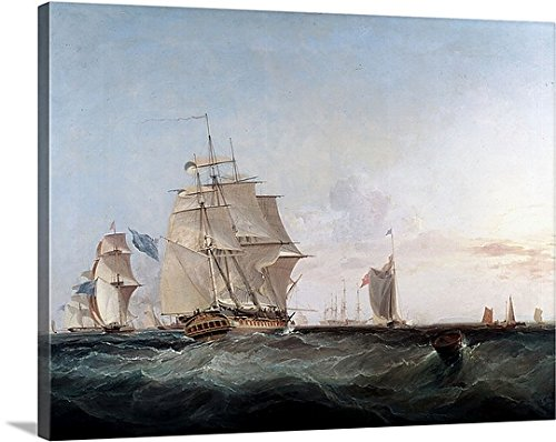 19th Century Canvas Painting - 6