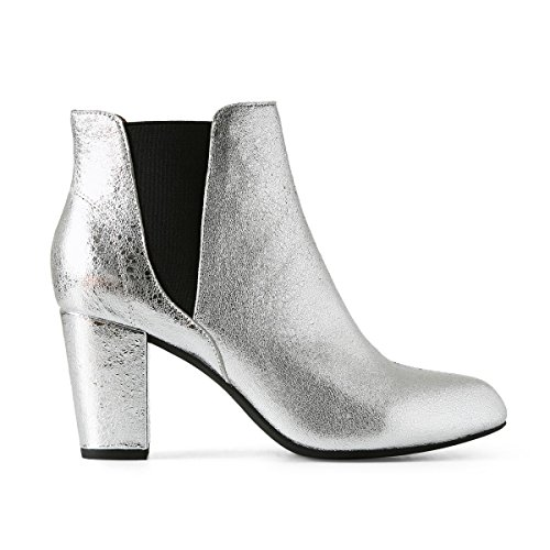 Shoe 210 Ankle L Silver Women's Hannah Silver Boots the Bear rzpqRr