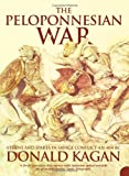 Front cover for the book The Peloponnesian War by Donald Kagan