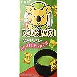 Lotte Koala's March Cookies, Matcha, 6.89 Ounce