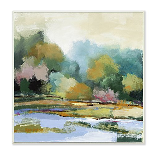 Stupell Home Décor Spring Morning Salt Marsh View Wall Plaque Art, 12 x 0.5 x 12, Proudly Made in USA