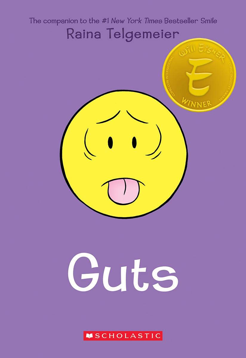 Guts: Telgemeier, Raina: 9780545852500: Amazon.com: Books