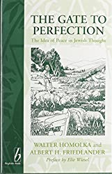 The Gate to Perfection: Idea of Peace in Jewish Thought (European Judaism (Providence, R.I.), V. 2.)