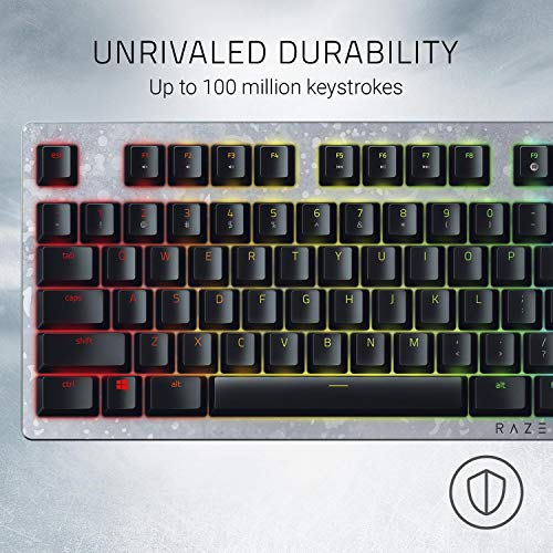 Razer Huntsman Gaming Keyboard: Fastest Keyboard Switches Ever - Clicky Optical Switches - Customizable Chroma RGB Lighting - Programmable Macro Functionality - Gears of War 5 Edition