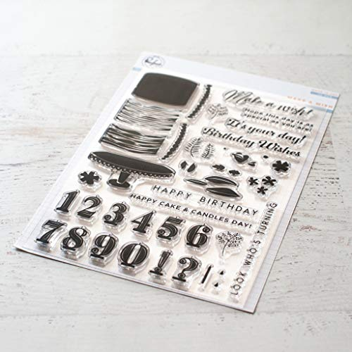 Paper Studio Clear Stamps - Pinkfresh Studio Clear Stamp Set 6