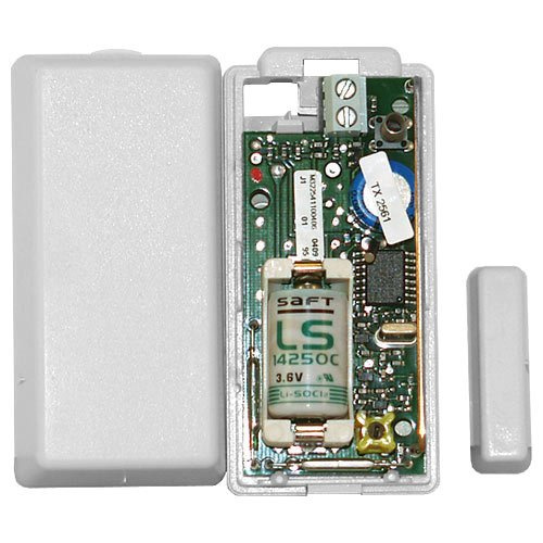 Crystal Sensor - Interlogix GENX65x-GENX650N Crystal Wireless Door And Window Detector, White