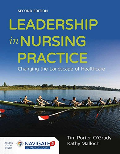 Pdf Health Leadership in Nursing Practice: Changing the Landscape of Health Care