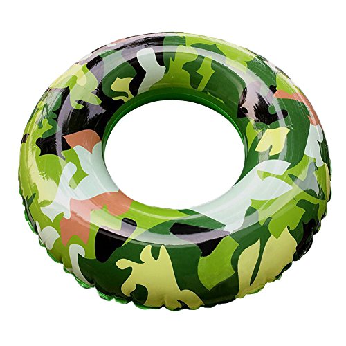 Egoelife Thickening Military Grade Camouflage Pool Float Tube Swimming Ring Tube Pool ()