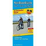 Nordseeküste, Husum - Heide - Brunsbüttel: Radwanderkarte mit Ausflugszielen, Einkehr- & Freizeittipps, wetterfest, reissfest, abwischbar. 1:100000 (Radkarte / RK)