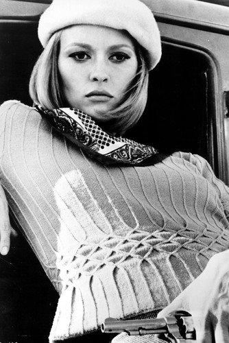 Faye Dunaway Bonnie & Clyde Iconic 24X36 Poster by Silverscreen