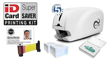 Supersaver - Impresora de Tarjetas de identificación para ...