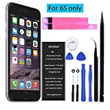oGoDeal 6S Battery,Battery Replacement Compatible for iPhone 6S Battery 1715 mAh A1633,A1688,A1700 with Repair Tool Kit