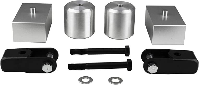 """Fits 2005-2020 Ford F250 F350 2.5/"""" FRONT SUSPENSION STEEL Lift Leveling Kit 4WD"""