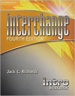 amazon interchange intro workbook 4th ed interchange fourth