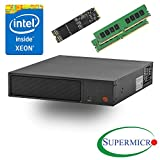 Supermicro SYS-E200-8D Intel Xeon D, 6-Core, 2x10GbE, Mini 1U Server, w/ 32G, 512M.2 SSD