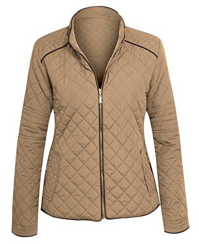 Quilted Zip Jacket - 3