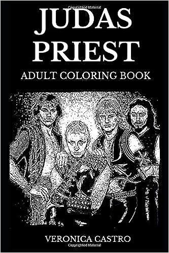 Judas Priest Adult Coloring Book: Legendary English Heavy ...