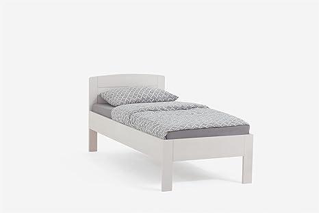 Dico massivholzbett letto singolo jasmine  cm cm