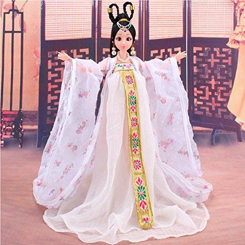 Ocamo Traje de Muñeca para Barbie de Estilo Clásico Chino Tradicional de Mitología Chino Antiguo Favorito de la Niña -...