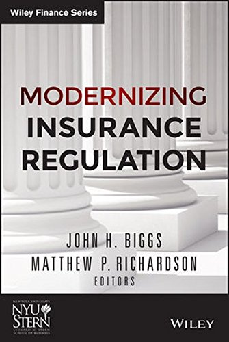 Modernizing Insurance Regulation  Wiley Finance