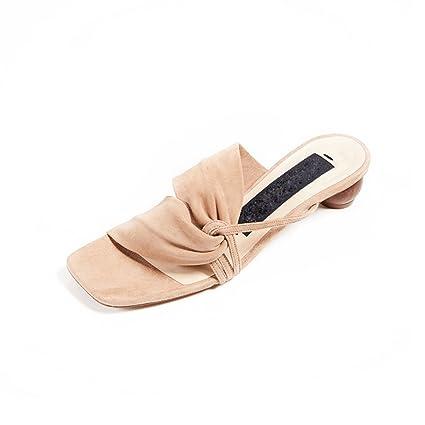 Zapatos Sandalias Usos Volantes Con Zapatillas Dos De Jianxin Zx0gwRq0