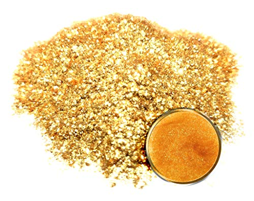 Gold Metal Glitter - Eye Candy Mica Powder Pigment/Flake