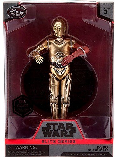(Disney - C-3PO Elite Series Die Cast Action Figure - 6 1/2'' - Star Wars: The Force Awakens)