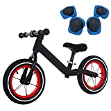 LBLA 12 Kids Balance Bike, No Pedal Baby Mini Bike, 12″ Bicycle for Children Riding Toy Baby Walker Push Car Walking Buddy Bike for Baby Kid Toddler,Ages 18 Months to 5 Years