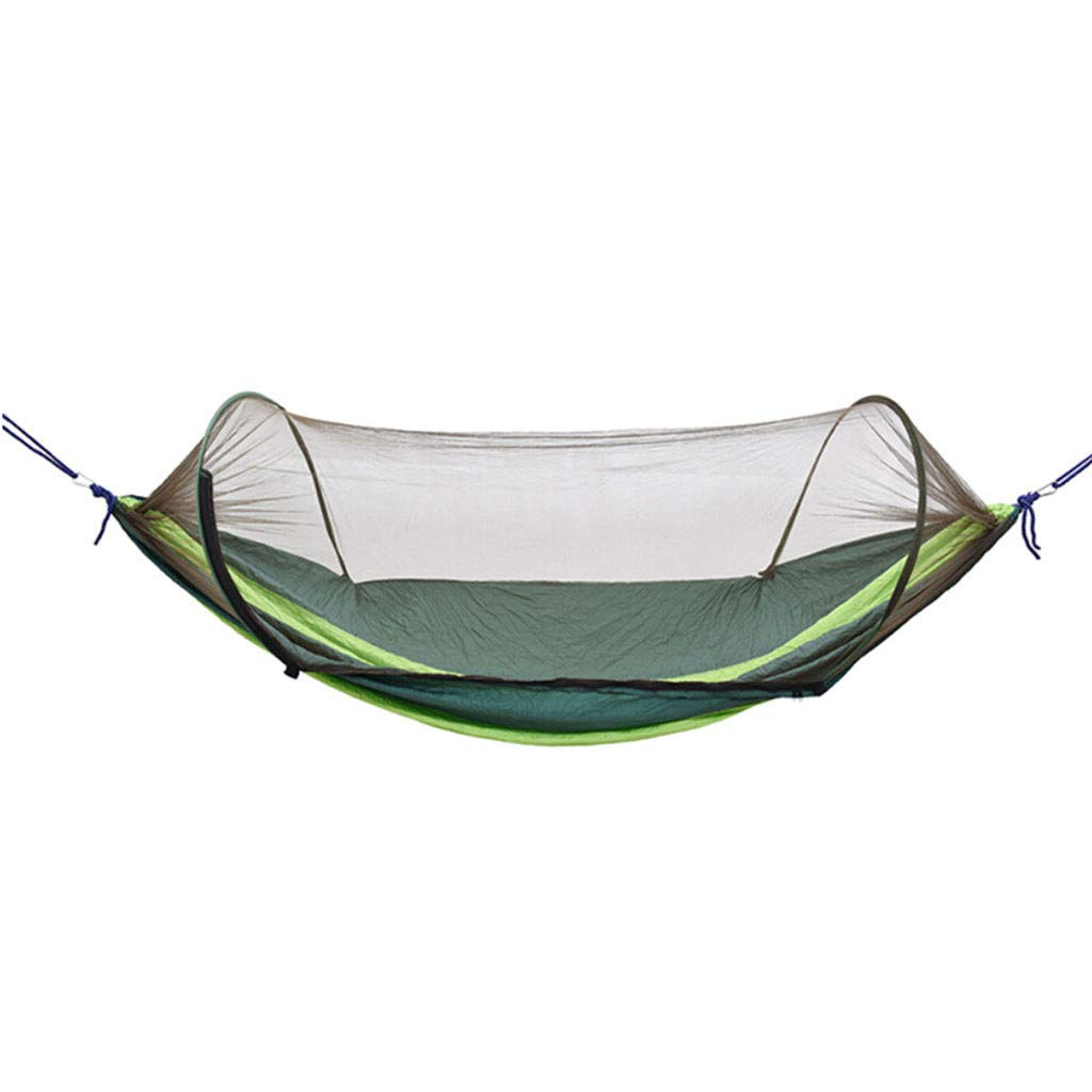 Yoyorule Camping & Hiking Tool Ultralight Travel Camping Hammock Built-in Mosquito Net And Storage Pouch by Yoyorule