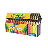 Crayola Sidewalk Chalk, Washable, Outdoor, Gifts for Kids, 64 Count