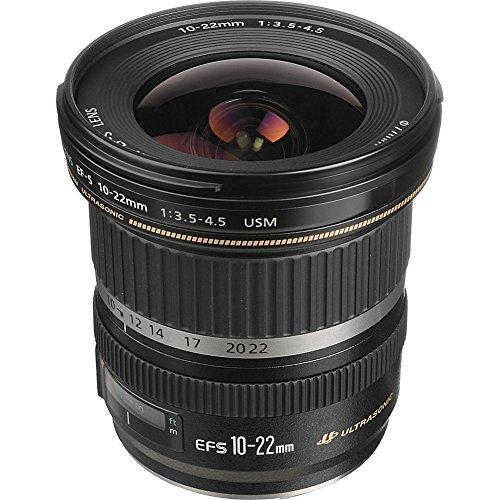 Canon EF-S 10-22mm f/3.5-4.5 USM SLR Lens for EOS Digital SLRs (Renewed) (Canon Ef S 10 22mm F 3-5 4-5)