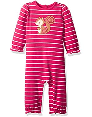 Baby Girls' Animal Friend Romper