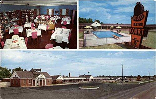 belco-motor-court-and-restaurant-emporia-virginia-original-vintage-postcard