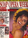 * SHOOTING STARS OF THE '90s ISSUE * Debbi Morgan, Lauren-Marie Taylor and Perry Stephens, Morgan Englund, Nicholas Walker - February 27, 1990 Soap Opera Weekly Magazine [Volume 1, Issue 15]