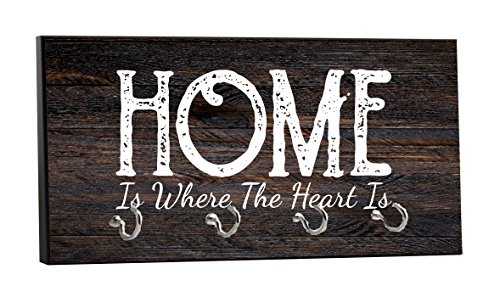 Home is Where the Heart Is - on Wood Print - 5