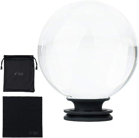 Bola de Cristal K9 80 mm con Arca Swiss y Tornillo de Rosca de ...